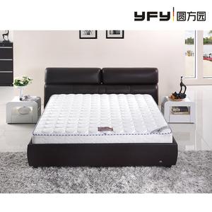 >圆方园席梦思乳胶椰棕 软硬两用床垫 1.8米整网弹簧席梦思床垫