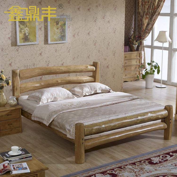 Кровать из массива дерева Xin Dingfeng  1.8 B105