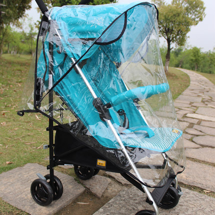 CVC Buggy stroller accessories stroller rain cover universal rain cover Umbrella Raincoat Baby Buggy