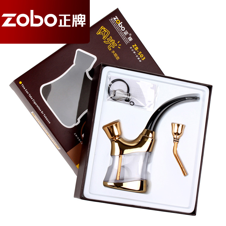 正牌/Zobo正牌烟嘴 水烟袋水烟壶全套ZB ¥25.00 x值10%...