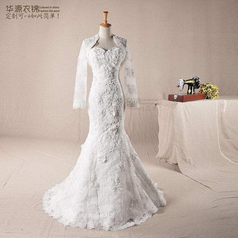 Wedding dresses 2013 mermaid lace