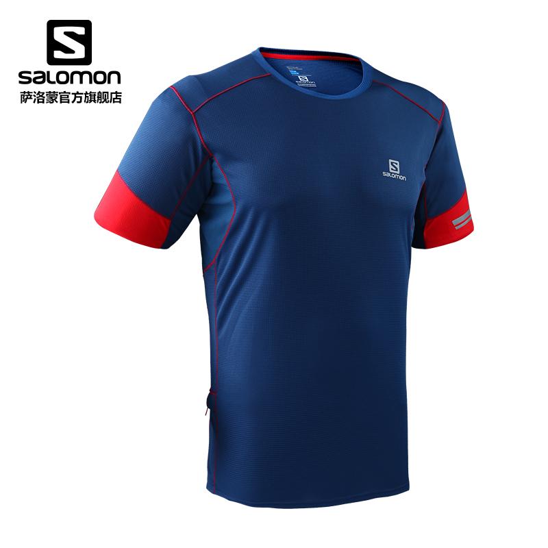 半月前入手Salomon 萨洛蒙 AGILE SS TEE M 速干T恤,目前为止体验最好的速干单品
