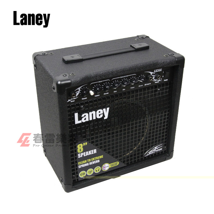 Гитарный усилитель Пружина музыкальные инструменты подлинных Голубой Laney lx20r спикер портативный электрогитара реверберации аудио