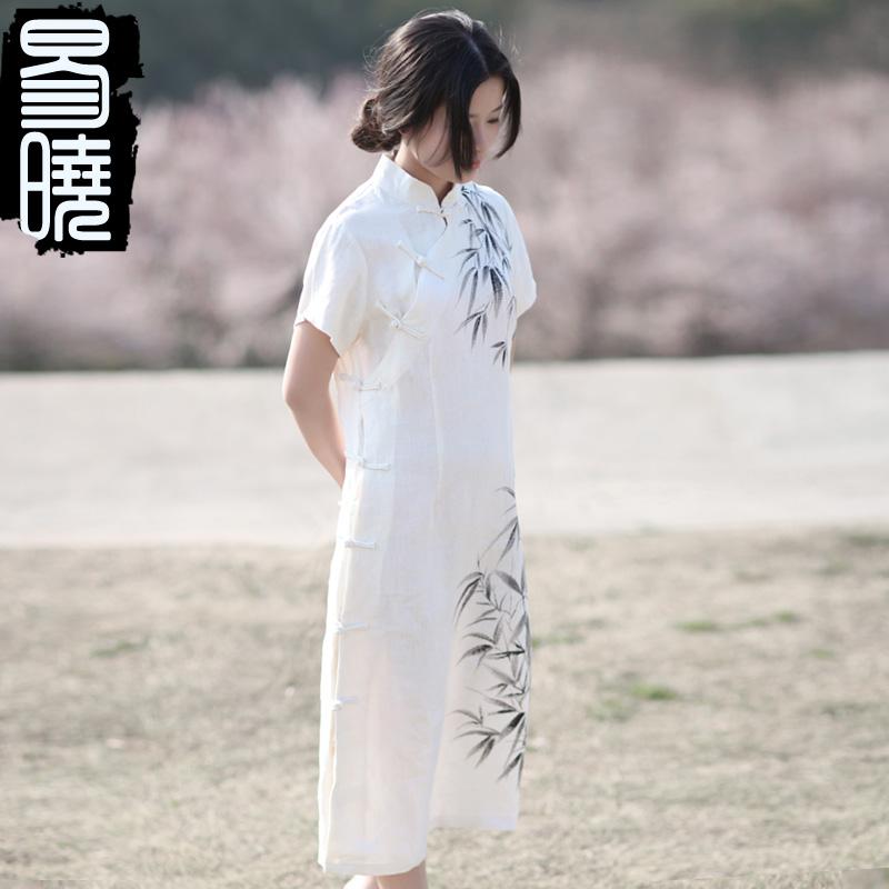 Платье Ципао Yi Xiao yx14b2004 2014