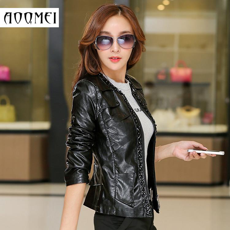 Кожаная куртка Ozzie Cheng Damei 5819 2015 PU