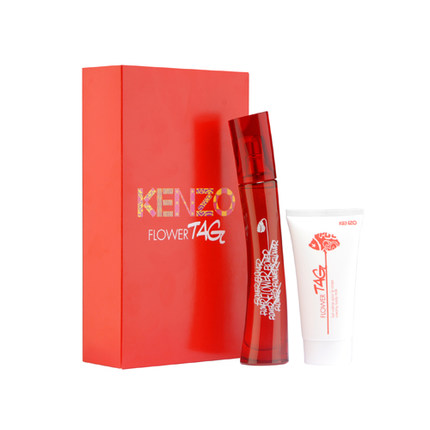 a6a930172 Get Quotations · Kenzo Flower Tag Eau de Toilette Gift Set Red Maximo  Oliveros two sets of Hong Kong