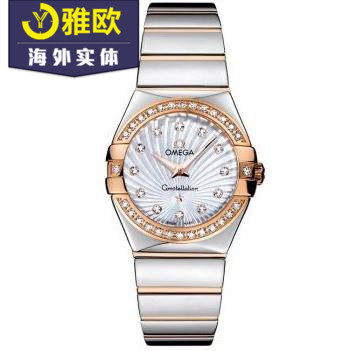 Omega- 123.25.27.60.55.006 Omega Constellation Ladies Quartz Watch