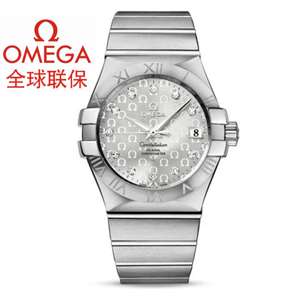 Warranty Omega Omega Constellation Mens Watch 123.10.35.20.52.002 mechanical watches
