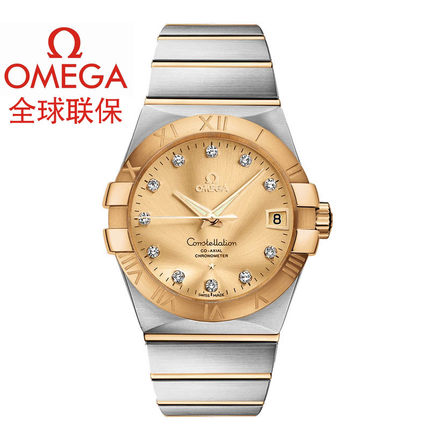 Warranty Omega Omega Constellation Mens Watch 123.20.38.21.58.001 mechanical watches