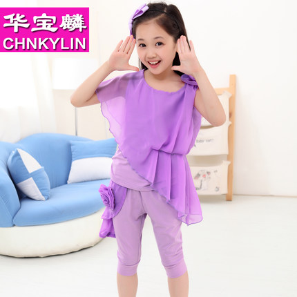 6760e72a26e4 Buy 10-11-12-13-14-15 -year-old Korean childrens clothing girls ...