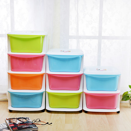 Put Childrenu0027s Toys, Clothes Storage Box Storage Cabinets Lockers Baby  Wardrobe Cabinet Drawer Plastic Storage