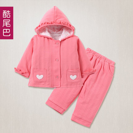 80591d3a8 Buy One year old baby boy 0-1-2 year old suit Autumn Korean Kids 6 ...
