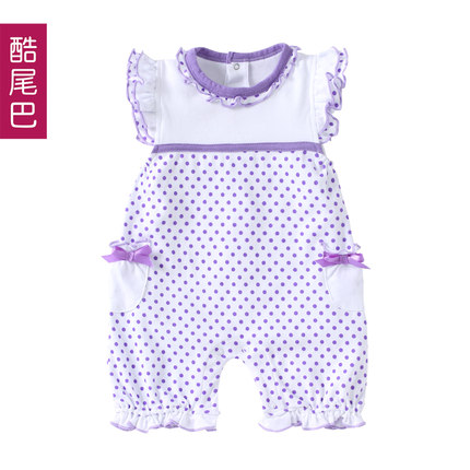 Buy Summer Infant clothing 0 1 years old baby girl summer