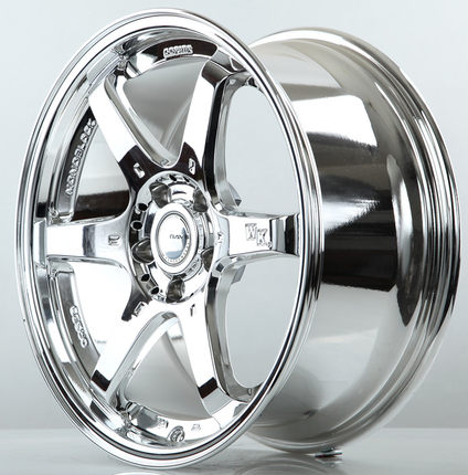 18 Inch Wheels White Plating Modified Car Tire Rims Crown Toyota Corolla Bell Teana