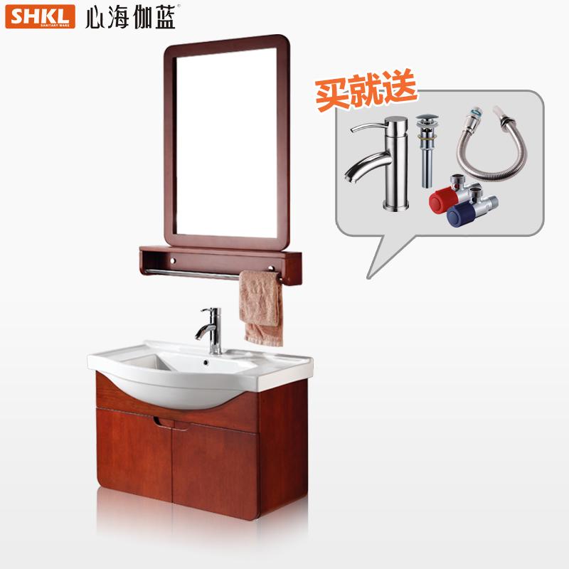心海伽蓝橡木浴室柜WX007