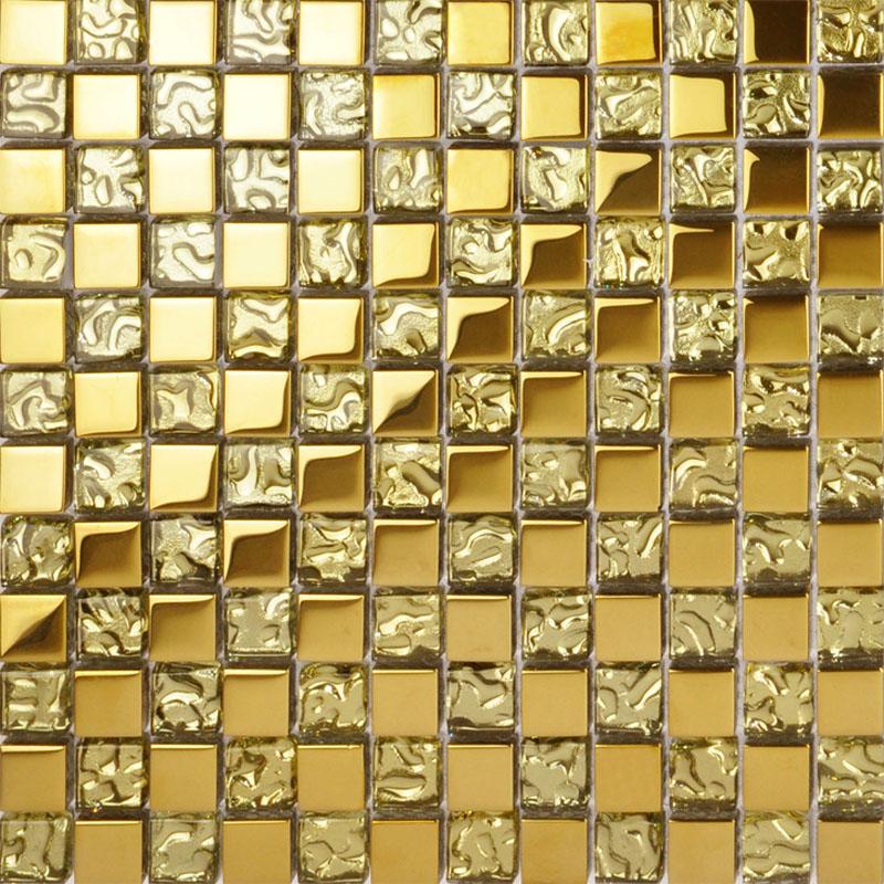 Мозайка T «пиксель» гальваническим стекло мозаика a5142 континентальный телевидения головоломка стены ванной стены плитка