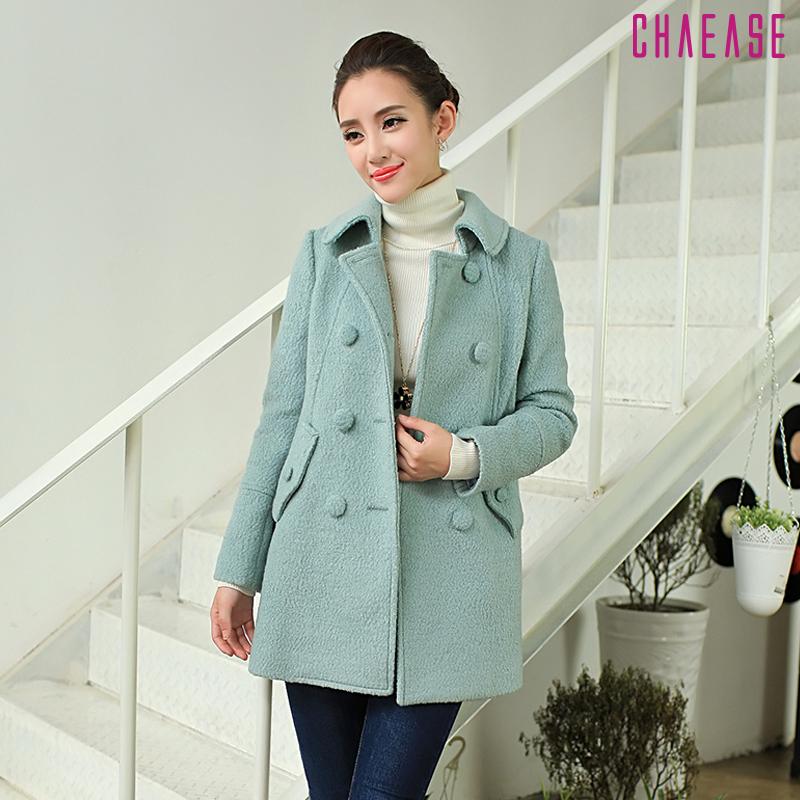 женское пальто Chaease qys13d078 2013 Chaease/千依适