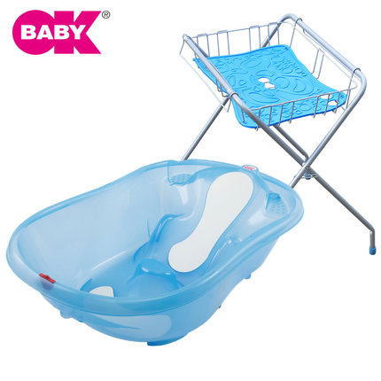 buy italy okbaby special folding baby bath newborn baby bath support frame ne. Black Bedroom Furniture Sets. Home Design Ideas