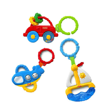 Buy Fisher Price Toys Baby Rattle Teether Rattle Newborn Baby