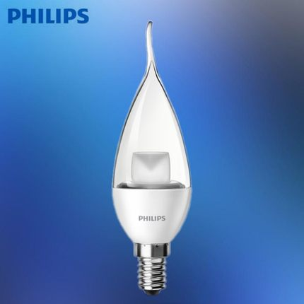 buy philips led light bulbs crystal candle candle led taillights pull bulb light e14 small screw. Black Bedroom Furniture Sets. Home Design Ideas