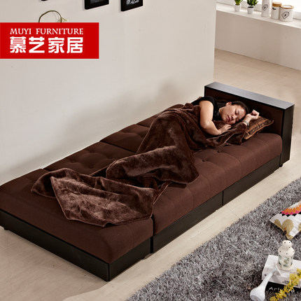 Buy mu yi ikea sofa bed cloth small apartment for Cheap small double divan beds with storage