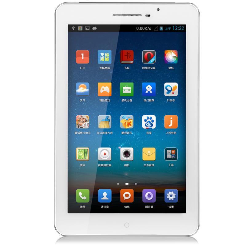 Luftco A5 8GB 3G-联通 龙酷 7寸IPS四核16G1300W 手机 平板电脑