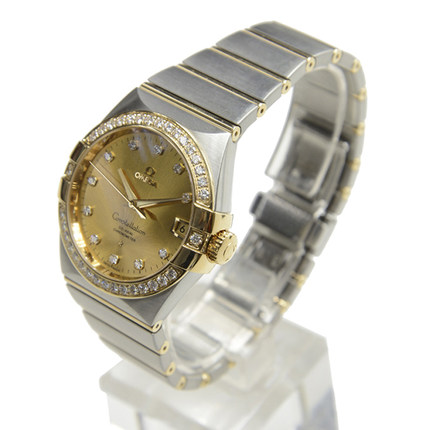 Warranty Omega Omega Constellation Mens Watch 123.25.38.21.58.001 mechanical watches