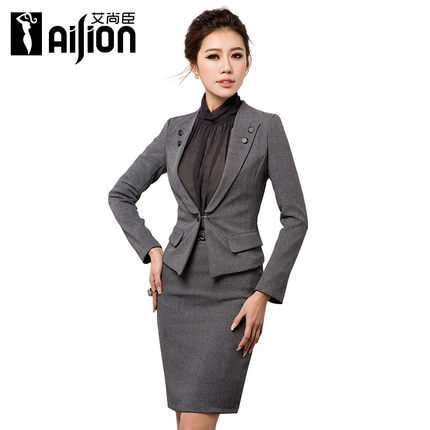 Buy Women wear skirt suits dress suit Slim Ladies European and ...