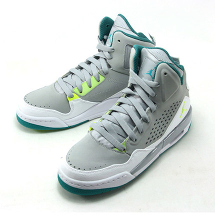 the best attitude 3f927 980f3 Get Quotations · Nike NIKE AIR JORDAN SC-3 GG women s basketball shoes gray  green shoes 630611-