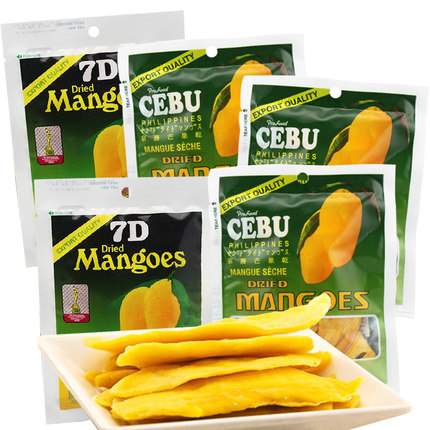 Buy Philippines imported foods dried mango 7d zero shipping