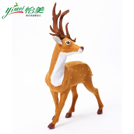 Yimei large-scale simulation sika deer Christmas Deer Christmas Christmas decorations Christmas decorations