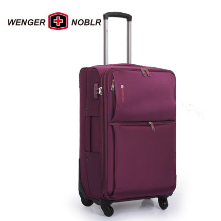 0ee21d1c884 Genuine Swiss Army Knife WENGER NOBLR Wheels Trolley suitcase luggage  check-in luggage Post