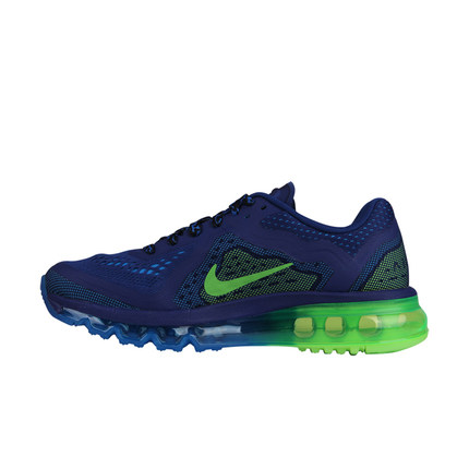 Authentic nike shoes Nike Air Max 2014 autumn new big boy running shoes for men and women 631334-403