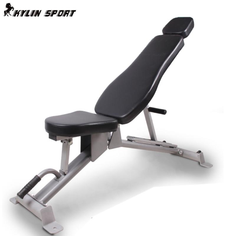 仰卧 健身/包邮商用多功能哑铃凳专业健身椅可调小飞鸟卧推器材腹肌仰卧板