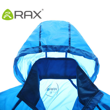 Thin skin RAX outdoor clothing for men and women of child models skin coat water repellent breathable sun protection clothing