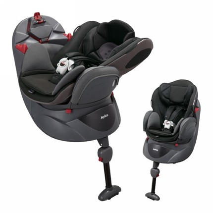 Aprica Child Car Safety Seat 0 4 Years Old 360 Degree Rotating Flat