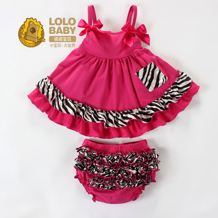 Buy Korean female baby clothing summer skirt baby princess dress ...